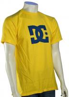 DC Star T-Shirt - Safety Yellow