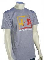DC Cross Stars T-Shirt - Heather Grey