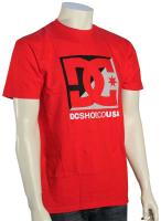 DC Cross Stars T-Shirt - Red / Grey