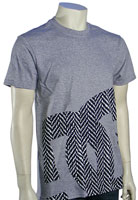 DC Biggy T-Shirt - Heather Grey