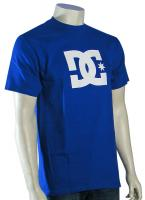 DC Star T-Shirt - Olympian Blue / White