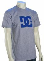 DC Star T-Shirt - Heather Grey / Blue