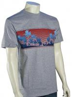 Quiksilver Waterman Final Scene T-Shirt - Zinc Heather