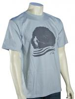 Quiksilver Waterman Stand Out T-Shirt - Bionic Blue