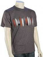 Quiksilver Waterman Salt Creek T-Shirt - Storm Heather