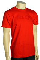 Reef Speed T-Shirt - Red / Red