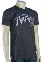 Billabong Pipe Script T-Shirt - Black Heather