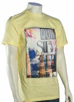 Quiksilver Open Road T-Shirt - Light Yellow