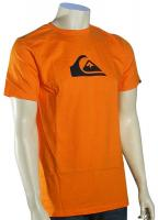 Quiksilver Mountain Wave T-Shirt - Orange Peel / Black