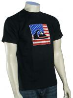 Quiksilver Patriot T-Shirt - Black