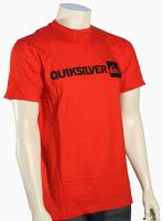 Quiksilver Industry T-Shirt - Quik Red