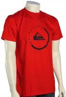 Quiksilver Everyday Active T-Shirt - Quik Red