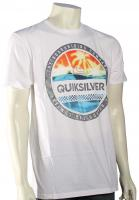 Quiksilver Filled In T-Shirt - White