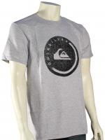 Quiksilver Push It T-Shirt - Athletic Heather