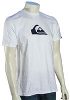 Quiksilver Mountain Wave T-Shirt - White / Black