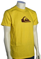 Quiksilver Mountain Wave T-Shirt - Lemon