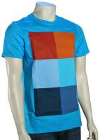 Hurley Kings Road Block T-Shirt - Heather Cyan
