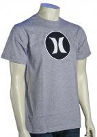 Hurley Block Party Icon T-Shirt - Heather Grey