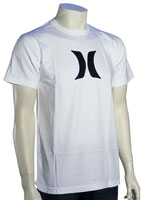 Hurley Icon T-Shirt - White / Black