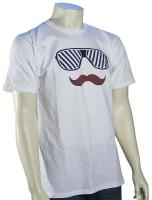 Von Zipper Stache T-Shirt - White
