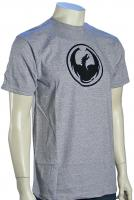 Dragon Icon T-Shirt - Classic Heather Grey