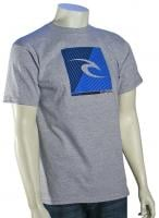 Rip Curl Square Fill T-Shirt - Athletic Heather