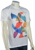 Rip Curl Fiber Glass Sublimination T-Shirt - White