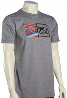 Rip Curl Kuhio Classic T-Shirt - Athletic Heather