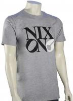 Nixon Philly Too T-Shirt - Heather Grey