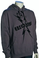 Electric Controller Zip Hoody - Charcoal