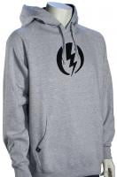 Electric Volt Pullover Hoody - Heather Grey