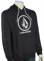 Volcom Single Pullover Hoody - Blue Black
