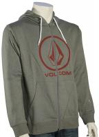 Volcom Single Zip Hoody - Slate Grey