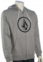 Volcom Stone Zip Hoody - Heather Grey