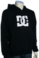 DC Star Pullover Fleece Hoody - Black / White