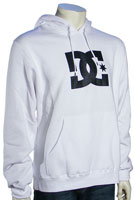 DC Star Pullover Fleece Hoody - White