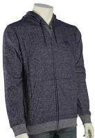 DC Rebel Zip Fleece Hoody - Indigo Heather