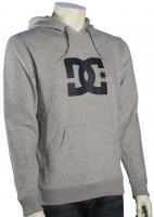 DC Star Pullover Fleece Hoody - Heather Grey