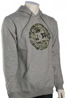 DC Circle Star Pullover Hoody - Grey Heather / Camo