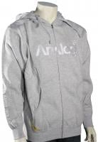 Analog Analogo 5 Zip Hoody - Grey Heather