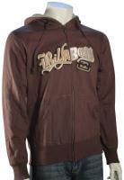 Billabong Deadbolt Zip Hoody - Chocolate