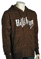 Billabong Checkpoint Zip Hoody - Dark Brown