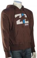 Billabong Remix Zip Hoody - Dark Brown