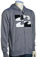 Billabong Life Em Zip Hoody - Dark Grey