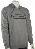Billabong Branded Pullover Hoody - Grey Heather