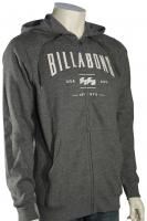 Billabong Mast Zip Hoody - Dark Grey Heather