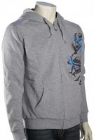Quiksilver Squadron Zip Fleece Hoody - Athletic Heather