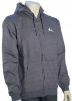 Quiksilver Everyday Heather Zip Hoody - Dark Denim