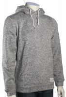 Quiksilver Keller Pullover Hoody - Light Grey Heather