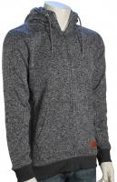 Quiksilver Keller Zip Hoody - Dark Grey Heather